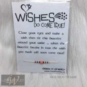 Wishes Do Come True Bracelet - Beige - SKU_WDCTB-bei8