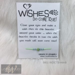Wishes Do Come True Bracelet - Mint - SKU_WDCTB-min8