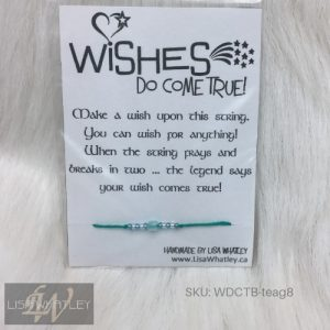 Wishes Do Come True Bracelet - Teal Green - SKU_WDCTB-teag8